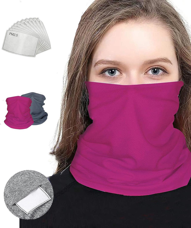Neck Gaiter Bandanas for Men Women with Mask Face Filter Mu Dust Oklahoma latest City Mall