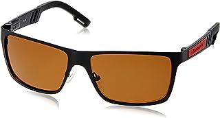 Fastrack Wayfarer Men Sunglasses (M101BR3P|57 millimeters|Brown)