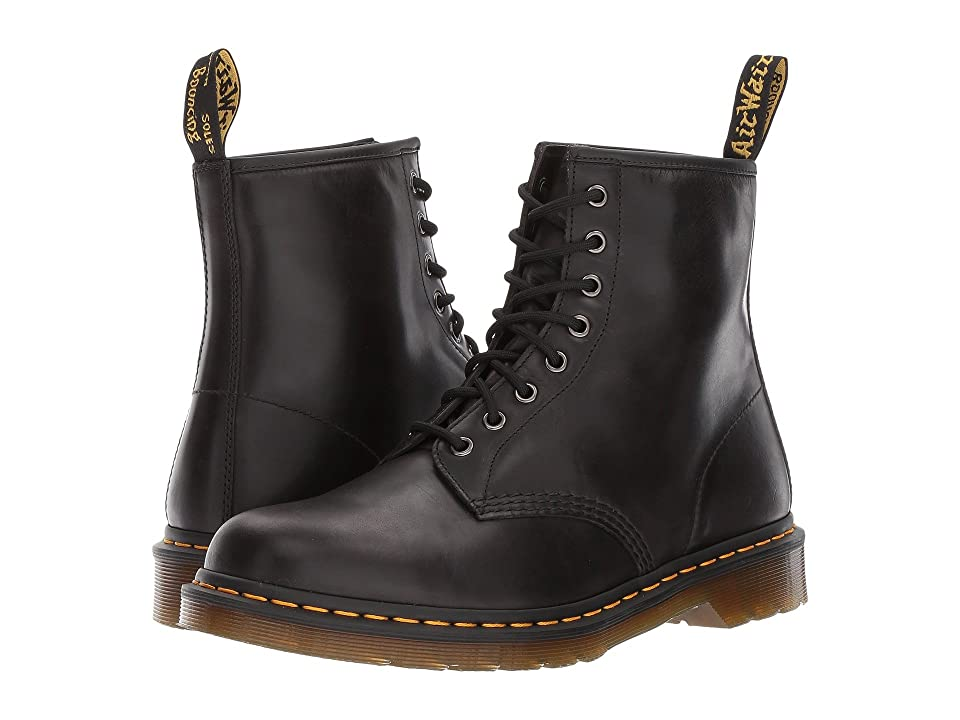 Dr. Martens 1460 8-Eye Boot (Gunmetal Orleans/Black Pu) Men