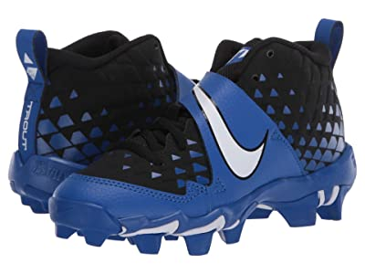Nike Kids Force Trout 6 Keystone (Toddler/Little Kid/Big Kid) (Game Royal/White) Kids Shoes