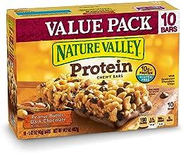 Nature Valley Chewy Granola Bar Protein, Peanut Butter Dark Chocolate, 14.2oz
