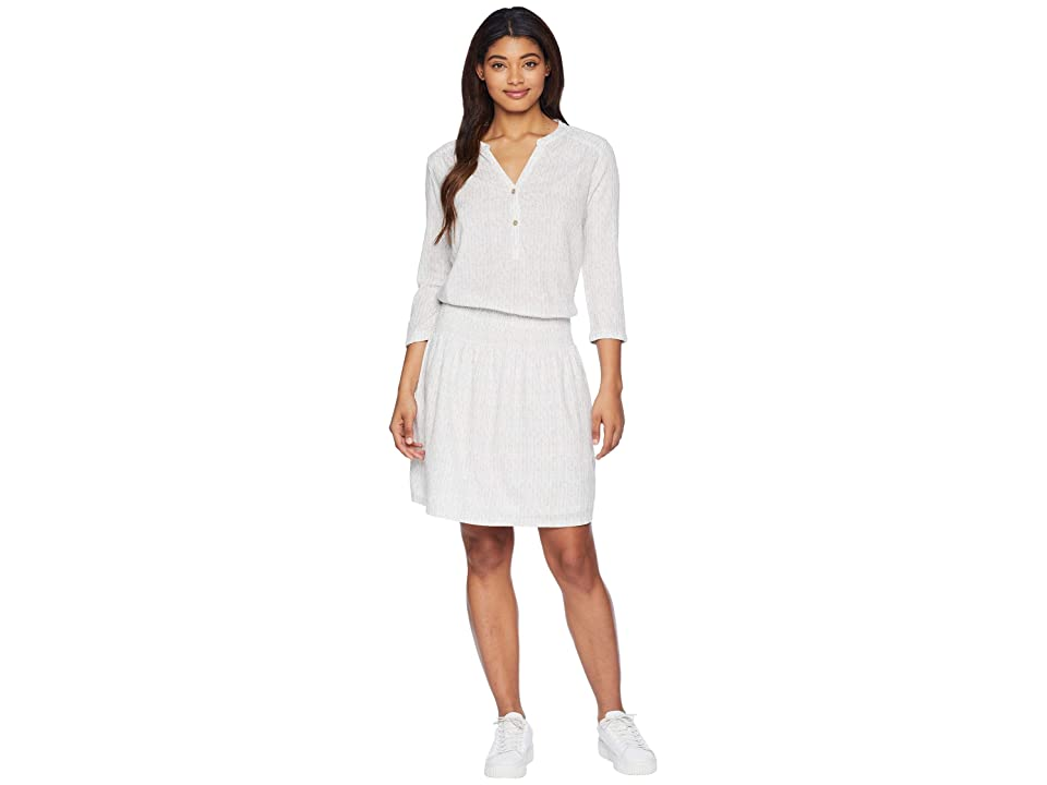 Prana Sugar Pine Dress (White Bodhi) Women