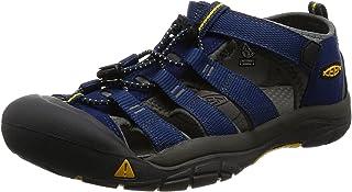 KEEN Shoes Boys' Newport H2 Sandals, Blue Depths and Gargoyle