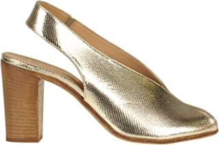 LEMARÉ Luxury Fashion Womens MCGLCAT0000B7041E Gold Heels | Season Outlet