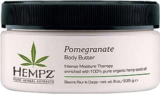 Hempz Pomegranate Body Butter, 8 Ounce