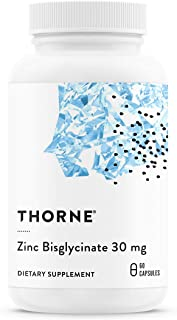 Thorne Research - Zinc Bisglycinate 30 mg - 60 Capsules