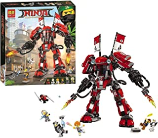 Bela Ninjago Fire Robot Kaya Building Blocks 980 Pcs - 04331