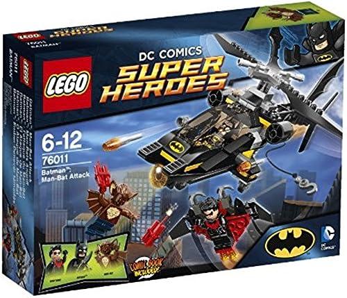 ¡No dudes! ¡Compra ahora! LEGO Super Heroes - DC DC DC Batman  El Ataque de Man-Bat (76011)  costo real