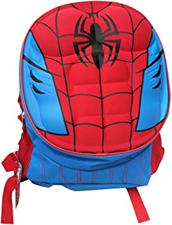 spiderman molded chest backpack