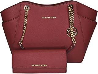 55fe98b046ad MICHAEL Michael Kors Jet Set Travel Large Chain Shoulder Tote bundled with Michael  Kors Jet Set