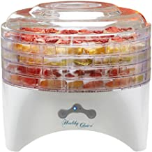 food dehydrator by Healthy choice | 5 layers removal trays | removes all water from your food | adjustable temperature controls | durable plastic