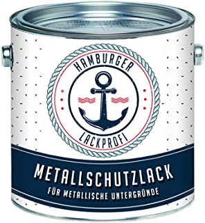 Hamburger Lack-Profi - Barniz protector para metal, color gris seda RAL 7044, Gris