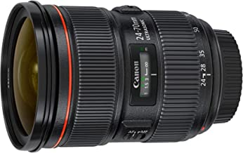 Canon 5175B002-cr EF 24-70mm F/2.8L II USM Standard Zoom Lens, Black (Renewed)