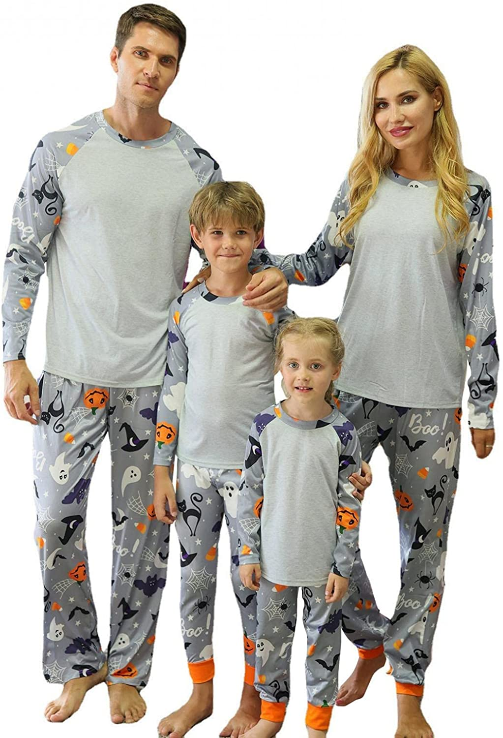 Fankle Family Pajamas Matching Sets - Pumpkin Halloween Year-end annual account Sleepwea wholesale