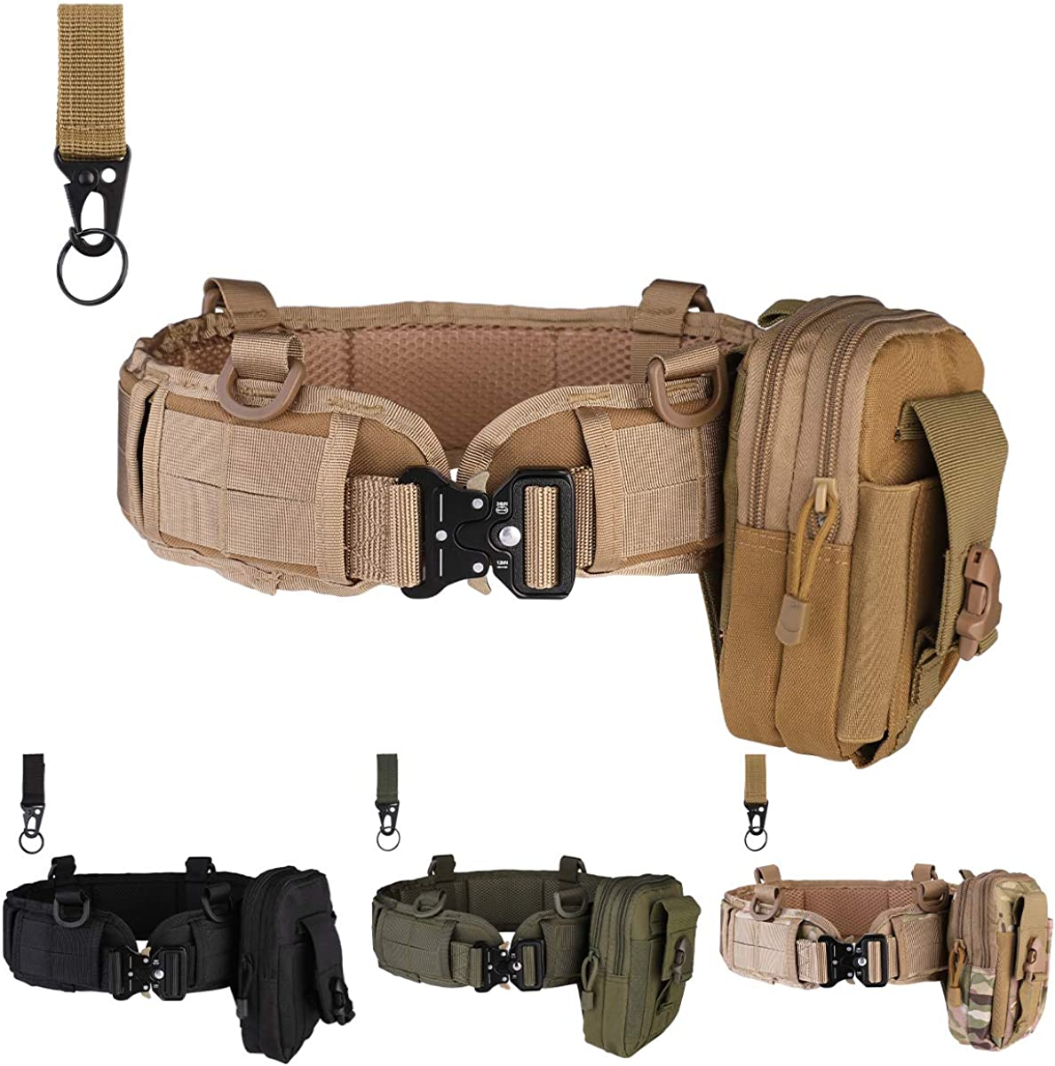 Fort Worth Mall Tactical Industry No. 1 Battle Belt Set Molle war belt tactical shooting