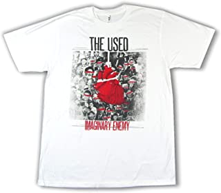 The Used Imaginary Enemy White T Shirt