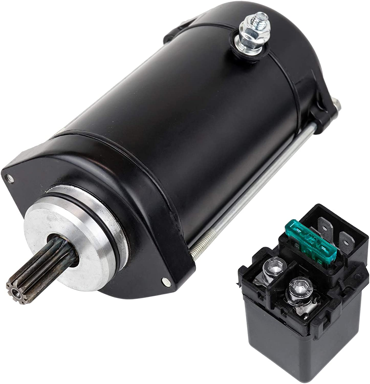 Caltric Starter And Relay Solenoid Vulc With Philadelphia Mall Kawasaki Compatible Finally popular brand