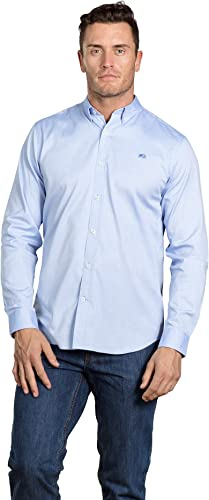 Raging Bull Signature Chemise Oxford à Manches Longues