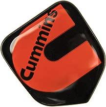 1 NEW 94-02 CUMMINS SECOND GEN BLACK & RED CUSTOM GRILL EMBLEM BADGE