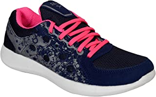 SEGA Women March Navy Blue Running Shoes