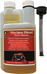 HYDRA Maximus Diesel Power Booster 500ML Suitable for All Diesel Engines Treats 250L