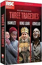 Coffret shakespeare 3 tragédies : hamlet ; king lear; othello [Reino Unido] [DVD]