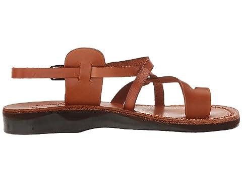 Jerusalem The Good Buckle Sandals Shepherd BlackBrownHoneyOrangeRedTan Womens 00v1q