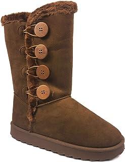 أحذية ثلج شتوية برقبة طويلة طويلة للبنات من Link GE49
