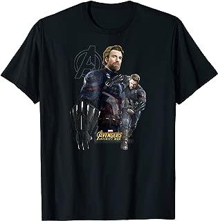 Marvel Infinity War Captain America Fierce Shield T-Shirt