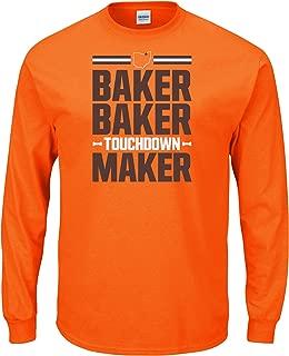 Nalie Sports Cleveland Football Fans Baker Baker Touchdown Maker T-Shirt (Sm-5X)