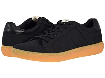 TOMS Leandro (Black Cotton Twill) Men