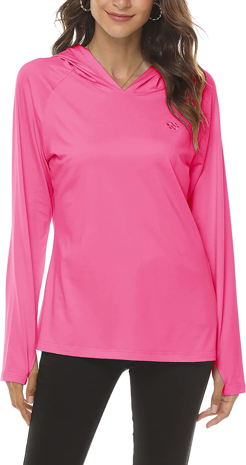 Clearance Up To 70 Women S Upf 50 Uv Protection Long Sleeve Hoodie Shirt Quick Dry Fishing Hiking Running T Shirts High Quality Sice Si Org