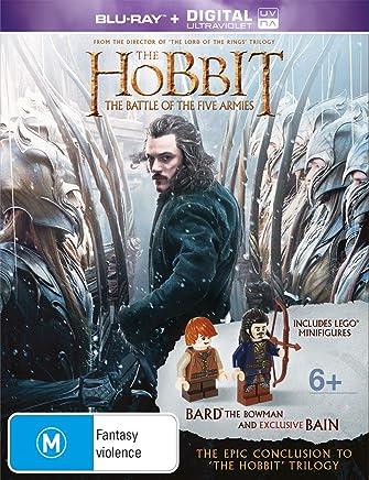 The Hobbit: The Battle of the Five Armies (BONUS LEGO Minifigures) (Blu-ray/UV)