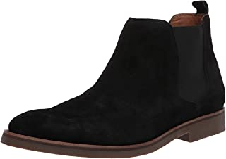 Driver Club USA Men's Luxury Leather Boot with Lug Sole Ankle