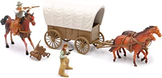 western wagon with horses