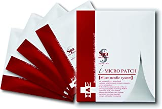Spa Treatment HAS iMicro Patch, Micro Needle Patches with HAS (Human Adipose-derived Stem cell extract) for Your Under Eye 2 x 4 set (8 pieces)