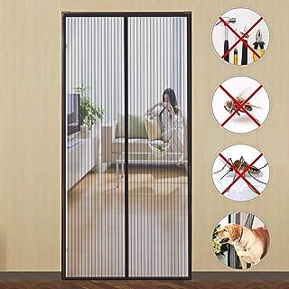 comprar comparacion GUOGAI Cortina Mosquitera para Puertas 85x210cm(33x83inch) Mosquitera Magnética Evita el Paso de Insectos Sin Huecos para ...