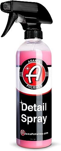 Adam's Detail Spray 16oz - Quick Waterless Detailer Spray for Car Detailing | Polisher Clay Bar & Car Wax Boosting Te...