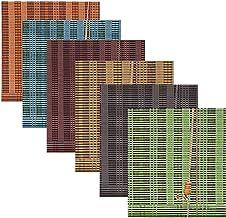 Bamboe Romeinse tinten jaloezieën, natuurlijke geweven bamboe tinten, rolgordijnen, aanpasbare grootte, zachtjes filteren ...