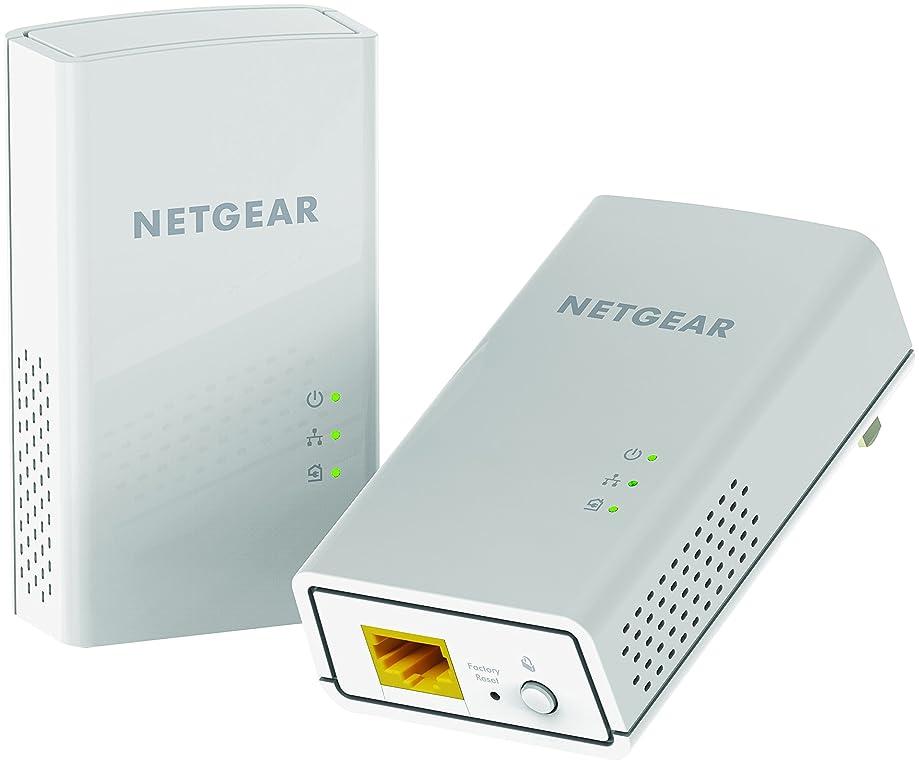 NETGEAR PowerLINE 1200 Mbps, 1 Gigabit Port (PL1200-100PAS)
