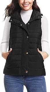 Women's Winter Puffer Vest Lightweight Packable Down Vest Quilted Jacket Coat