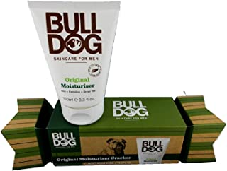 BULLDOG ORIGINAL moisturiser 100ml CRACKER CHRISTMAS SET
