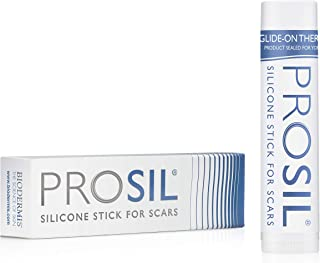 Pro-Sil Patented Silicone Scar Treatment Stick - Clinically Proven to Reduce the Appearance of Scars - Easy Glide-on Applicator, 4.25g