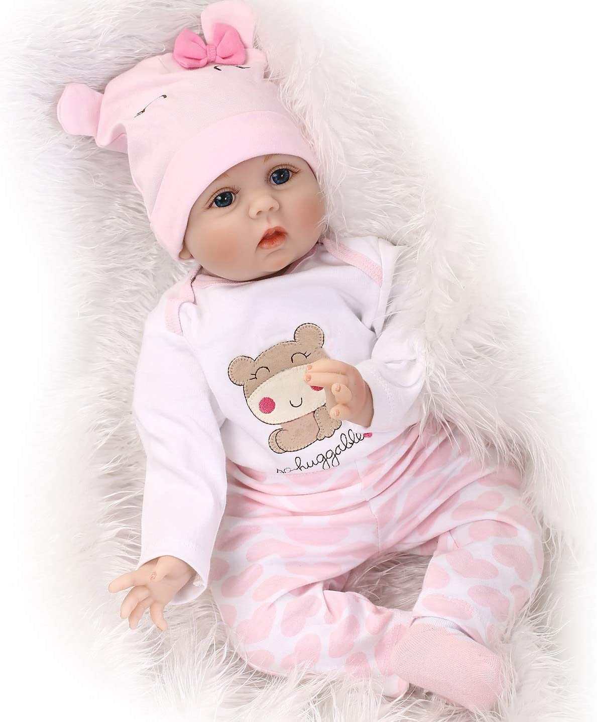 price NPKDOLLs Reborn Baby Dolls Recommendation 22 inches Vi Simulation Soft Silicone