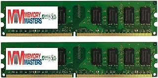 MemoryMasters 4GB 2X 2GB DDR2 PC2 4200 533Mhz 240 Pin DIMM 4 GB CL 4 KIT