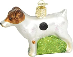 Old World Christmas Ornaments: Dog Collection Glass Blown Ornaments for Christmas Tree, Jack Russell