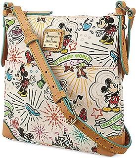Disney Dooney & Bourke White Sketch Crossbody Letter Carrier Purse