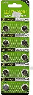 New TIANQIU 10PCS Ag7 Lr927 395 Sr927Sw Alkaline Battery FBA
