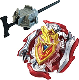 [B-105 Great Launcher Set] Takaratomy Beyblade Burst Beyblade Burst B - 105 Starter Zet Achilles. 11. Xt + Zet Achilles Reinforced Parts Included B-123 Long Baylauncher Set Set [Japan Import]