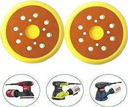 300527002 Sander Backing Pad 5 Inch 8 Hole for Ryobi OE # 975241002 974484001 Milwaukee 51-36-7090 51-36-7100 Orbital Sander Backer Replacement Pad(2Pack)